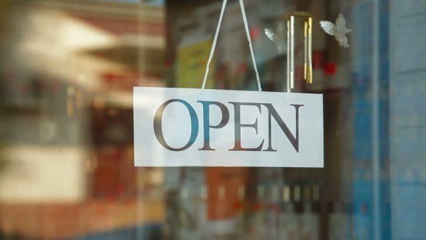 MerchandiseStoreOpenSign