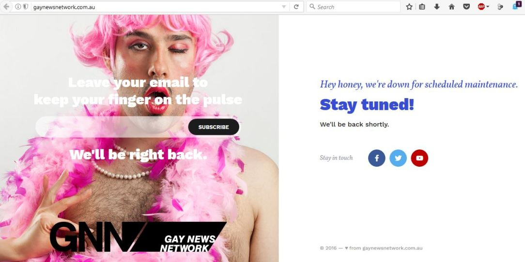 GayNewsNetworkStillDown