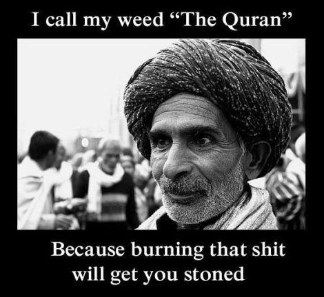 Quran Stoned Meme