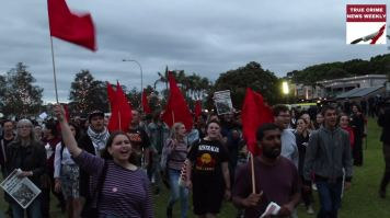 Protestors at Milo Event Sydney