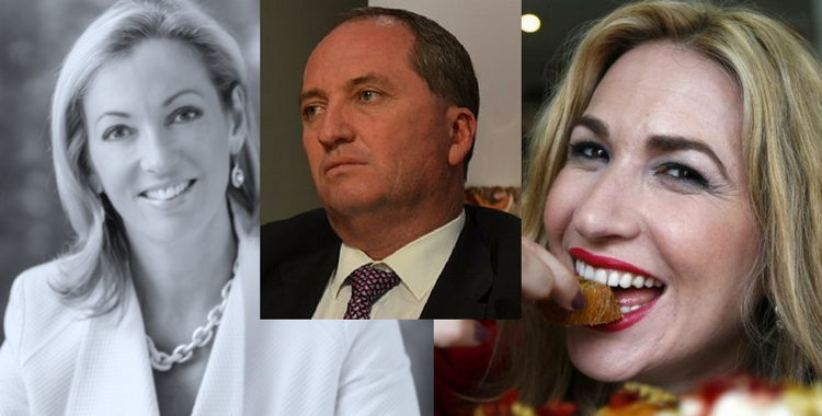 """THE BONKING BEETROOT"": Deputy PM and ""homewrecker"" Barnaby Joyce allegedly traded sex for favours with powerful Canberra lobbyist"